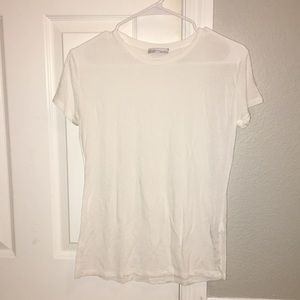 Two Zara Black and White Tees